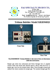 Model MRB500H3E (220V)Tritium Collection System Brochure