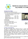 Model TCS-3000E (220V) Tritium Collection System Brochure