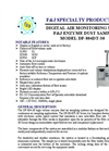 F&J DF-804DT-30 Enzyme Dust Sampler with Casters - Brochure