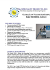 F&J - Model GAS-1 - Global Low Volume Air Sampler (100 - 120 VAC) - Brochure