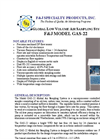 F&J - Model GAS-22 - Global Low Volume Air Sampler (100 - 120 VAC) - Brochure