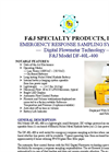 F&J - Model DF-40L-400 - Emergency Response Sampling System - Brochure