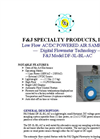 F&J - Model DF-3L-BL-AC - Brushless Emergency Response Sampling System - Brochure