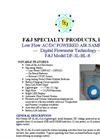 F&J - Model DF-3L-BL-8 - Brushless Emergency Response Sampling System - Brochure