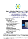 F&J - Model DF-1L-BL-8 - Brushless AC/DC Low Flow Air Sampling System - Brochure