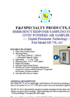 F&J - Model DF-75L-AC - Emergency Response Sampling System - Brochure