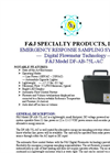 F&J - Model DF-AB-75L-AC - Emergency Response Sampling System - Brochure