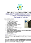F&J - Model DF-AB-12L - Emergency Response Sampling System - Brochure