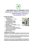 F&J - Model DF-804DTE-30HT - High Volume Enzyme Dust Air Sampling Systems - Brochure