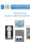 Options for Global Air Sampler Systems - Brochure