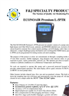 F&J ECONOAIR - Model L-5PTR Premium Personal Air Sampler - Brochure