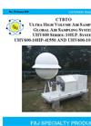 F&J UHV600 Series 10 H.P. System CTBTO Ultra High Volume Air Sampler - Brochure