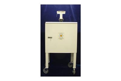 F&J - Model DF-804-30EC - Enzyme Dust Sampler with Elevated Cabinet and Casters