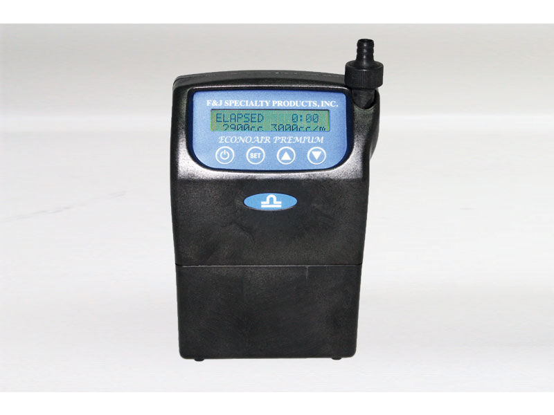 F&J ECONOAIR - Model L-15PTR - Premium Personal Air Sampler