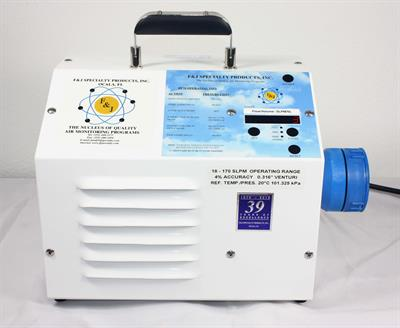F&J - Model DFHV-1DT - Digital Flow Meter High Volume Air Sampler (100 - 120 VAC)