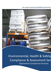 Environmental, Health & Safety (EHS) Compliance & Assessment Services Brochure 2015