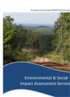 Environmental & Social Impact Assessment Services Brochure 2015