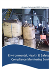 Environmental, Health & Safety (EHS) Compliance Monitoring Services Brochure 2015