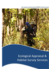 Ecological Appraisal & Habitat Survey Services Brochure 2015