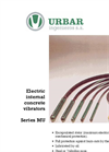 Internal Electric Vibrators MU Serie Brochure