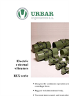 External Electric Vibrators REX Serie Brochure