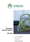 Turbine Vibrators AB-4006 Brochure