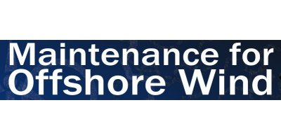 Maintenance for Offshore Wind 2016
