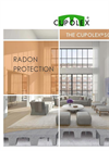 Cupolex Radon Protection -Brochure