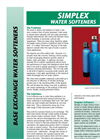 Simplex- Water Softeners Brochure