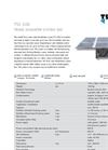 Model TSS 300 - Mobile Solar Powered Water Desalination System Brochure