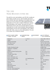 Model TBS 300 - Mobile Solar Powered Water Desalination System Brochure