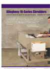 Strip Cut Shredder - Brochure