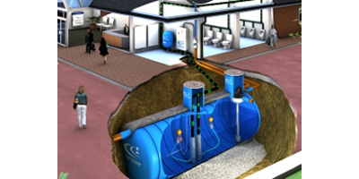 Pressurised Rainwater Harvesting Systems