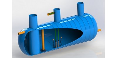 Stormsaver Combined Rainwater Harvesting and Attenuation Tank