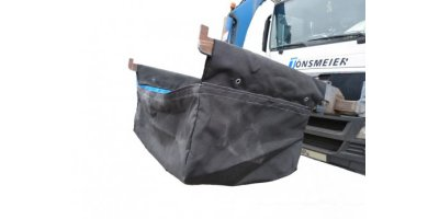 Collecting bag for front loader garbage trucks