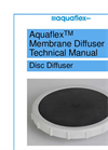 Aquaflex Membrane Diffuser Technical Manual