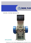 Model IM TYP 42/60 - Medium Capacity Wet Granulators Brochure