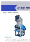 Model IM TYP 50/100 - High Capacity Wet Granulators Brochure