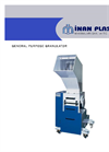 Model IM TYP 25/25 - Low Capacity Dry Granulator Brochure