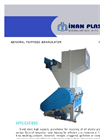 Model IM TYP 50/125 - High Capacity Wet Granulator Brochure