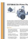 Dri-Prime - CD75MA5 - Automatic Centrifugal Pump Brochure