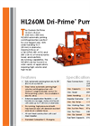Dri-Prime - HL260M - Automatic Self-Priming Centrifugal Pump Brochure