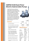 Sub-Prime - GSP05/10/20 - Electric Submersible Dewatering Pumps Brochure