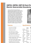 Sub-Prime - GSP55/GSP80/GSP130 - Electric Submersible Dewatering Pumps Brochure