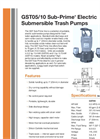 Sub-Prime - GST05/10 - Electric Submersible Trash Pumps Brochure
