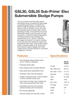 Sub-Prime - GSL30/GSL35 - Electric Submersible Sludge Pumps Brochure