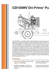 Dri-Prime - CD100MV - Portable Wellpoint Pump Brochure