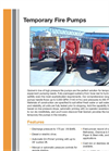 Temporary High Pressure Fire Pumps Brochure