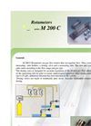 Model M 200 C - Gas Flowmeters Brochure