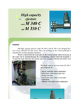 Series M 340 C And M 350 C - High Capacity Ejectors Brochure